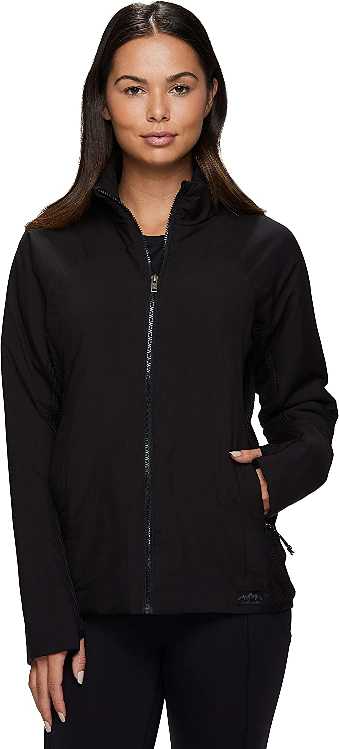 Avalanche Women's Midweight Relaxed Hybrid Coat With Puffer Factory outlet Knit Shipping included
