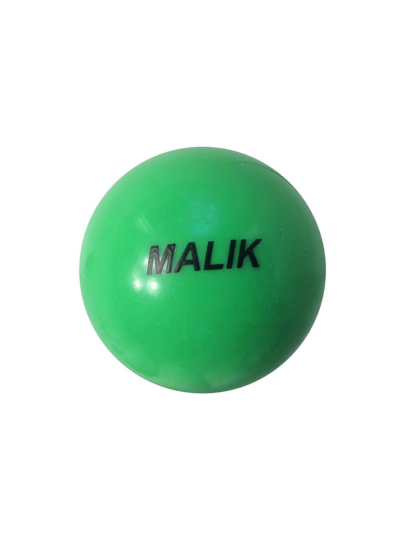 Pelota de hockey sobre hierba Malik suave verde: Amazon.es ...