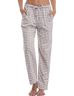 Merry Style Pantalones Largos de Pijamas 100% Algodón Mujer MPP-001: Amazon.es: Ropa y accesorios