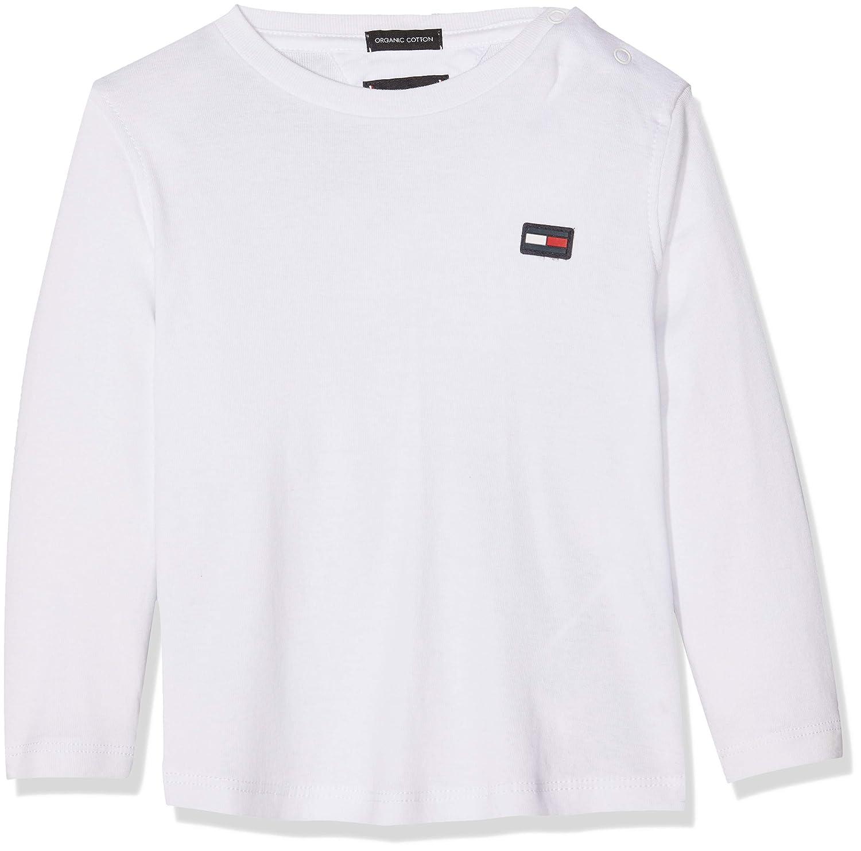 Tommy Hilfiger Baby Boys' Essential Rib Knit L/S Long Sleeve Top (Grey Heather 004) 86 KB0KB04307