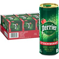 30-Count Carbonated Mineral Water Slim Cans 8.45 Fl Oz