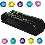 Imprint's 1 - Strong Magnetic - White Board Duster and 10 Magnet Buttons for Magnetic White Boards,Fridge,Racks & Almirah