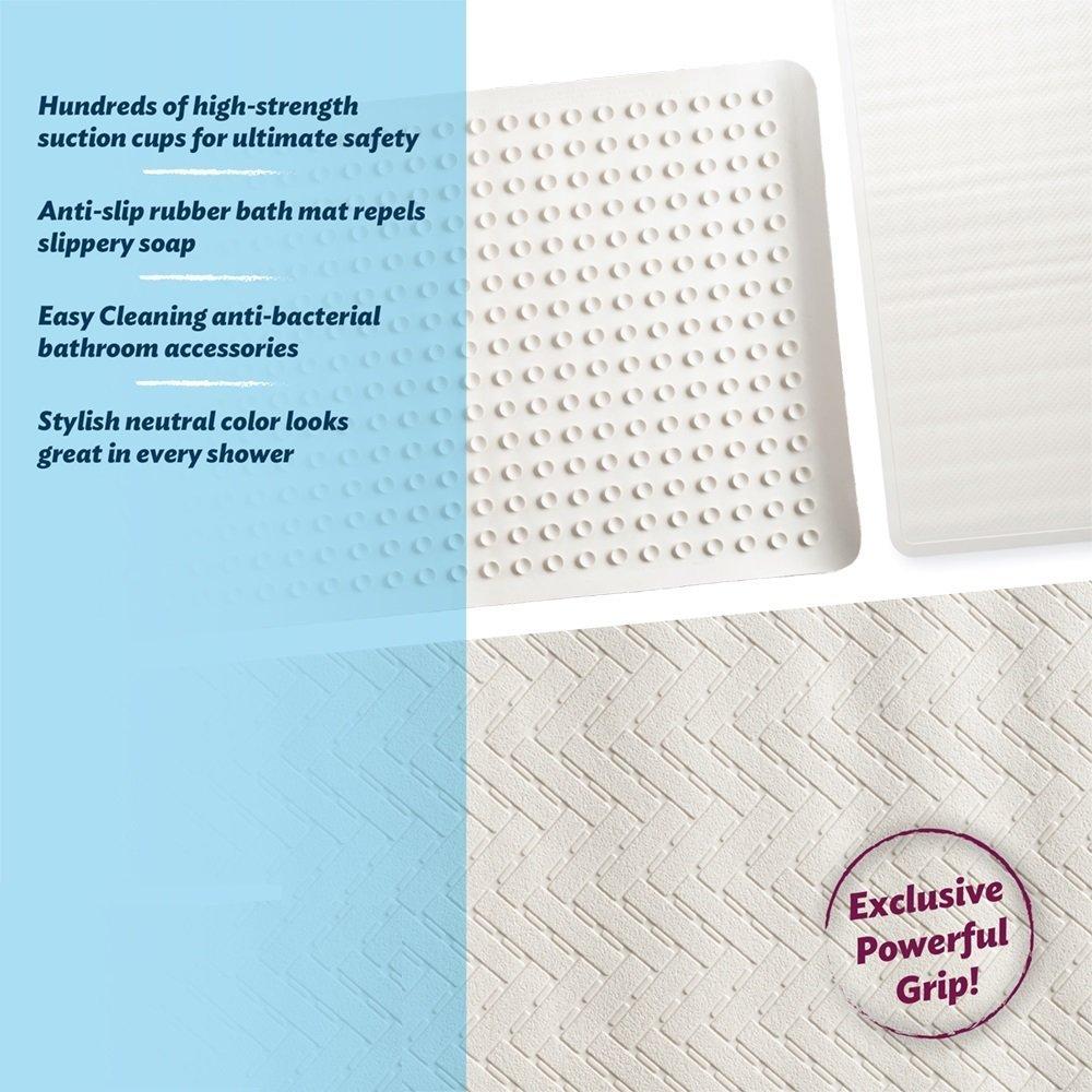 Amazon.com: Epica Anti Slip Bath Mat: Home & Kitchen