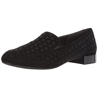 Kenneth Cole REACTION Women's Jet Time Slip on Loafer with Metallic Heel Flat | Loafers & Slip-Ons