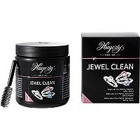 Hagerty Jewel Clean Baño de inmersión limpia joyas oro platino y piedras preciosas 170ml I Eficaz líquido para limpiar…