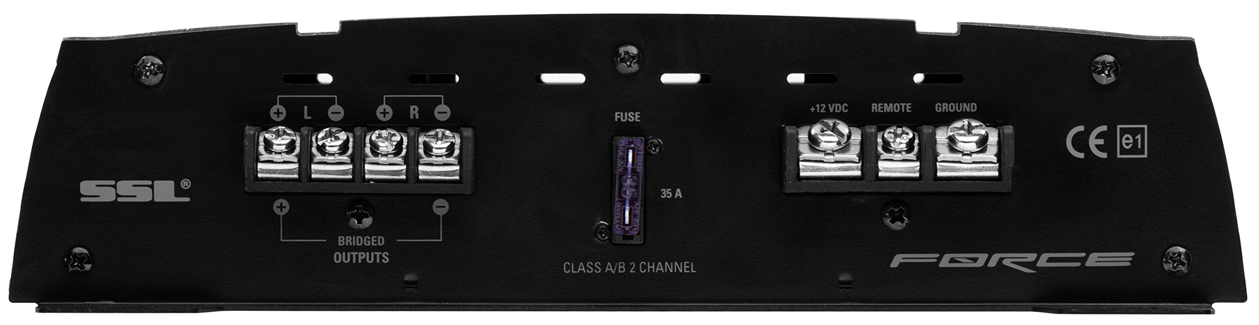 Sound Storm FR1000.2 Force 1000 Watt, 2 Channel, 2 to 8 Ohm Stable Class A/B, Full Range, Bridgeable, MOSFET Car Amplifier with Remote Subwoofer Control by Sound Storm Laboratories (Image #4)
