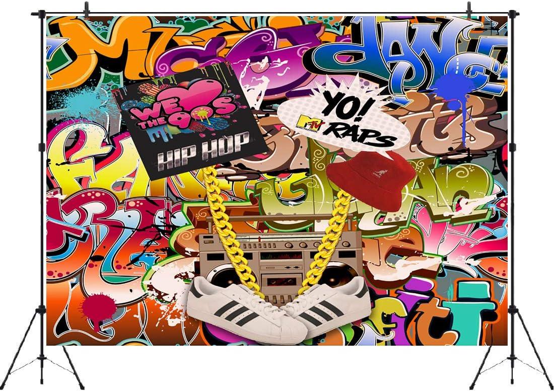 Hip Hop Hintergrund 15 7 X 91 4 Cm Kamera