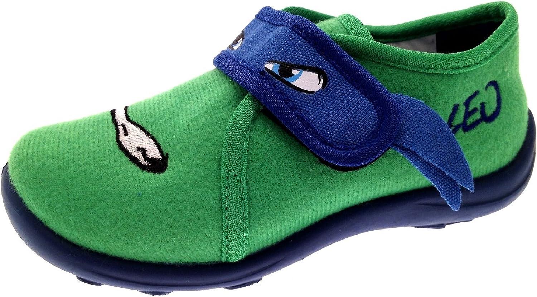 Lora Dora Boys Teenage Mutant Ninja Turtles Slippers Kids TMNT House Shoes Nursery Size