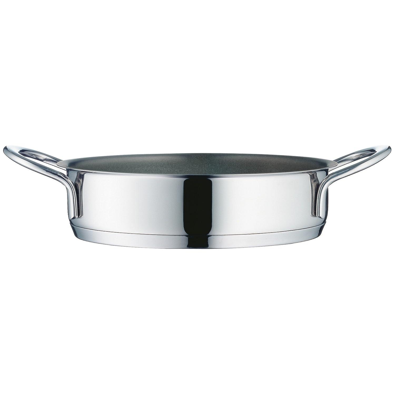 WMF Mini Sartén para inducción (18 cm de diámetro, Acero Inoxidable Cromargan, Reborde, Apto para lavavajillas, Silver, 18 cm cm: Amazon.es: Hogar
