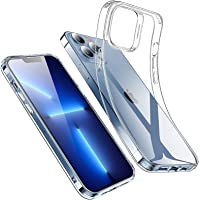 ESR Clear Case Compatible with iPhone 13 Pro Case, Crystal-Clear Shockproof Thin Silicone Case, Yellowing-Resistant Slim…