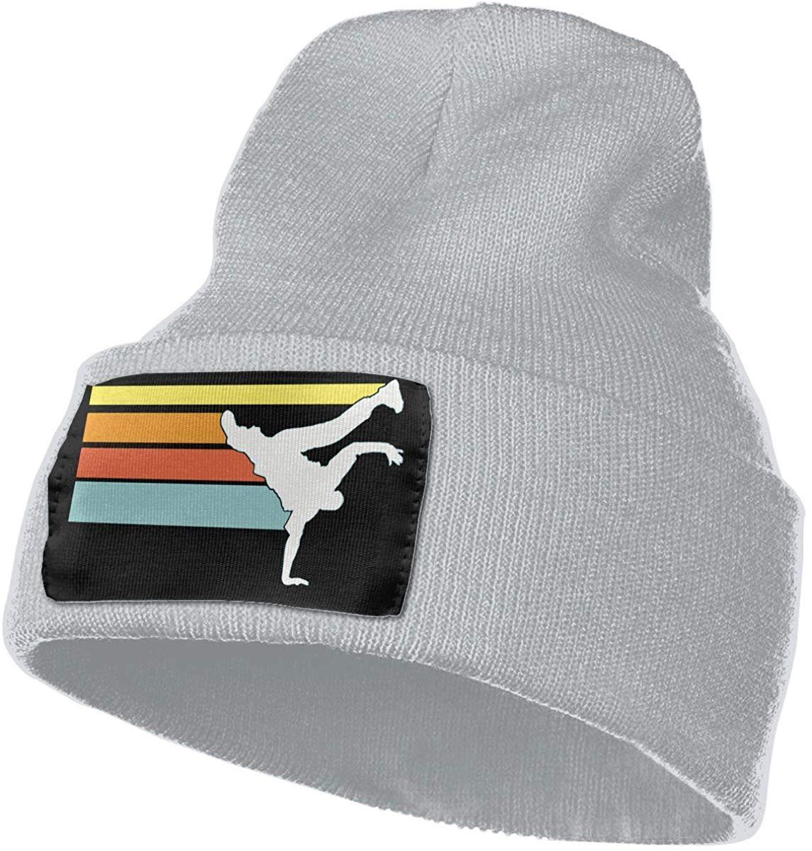 tyutrir Gorra de Lana Diaria para Hombres y Mujeres 100/% /ácido acr/ílico Gorra Vintage de Hip Hop Breakdance Stocking 8114