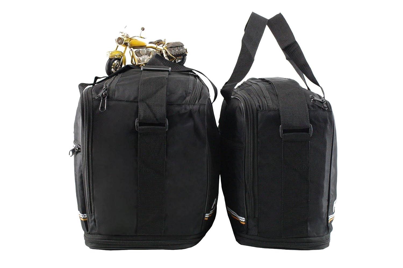 : Poches int/érieures//Sacs int/érieurs pour valises lat/érales Adventure m4b BMW F800GS /à partir de 2013 F800 GS per valigie in alluminio Hauteur Variable K72 K75