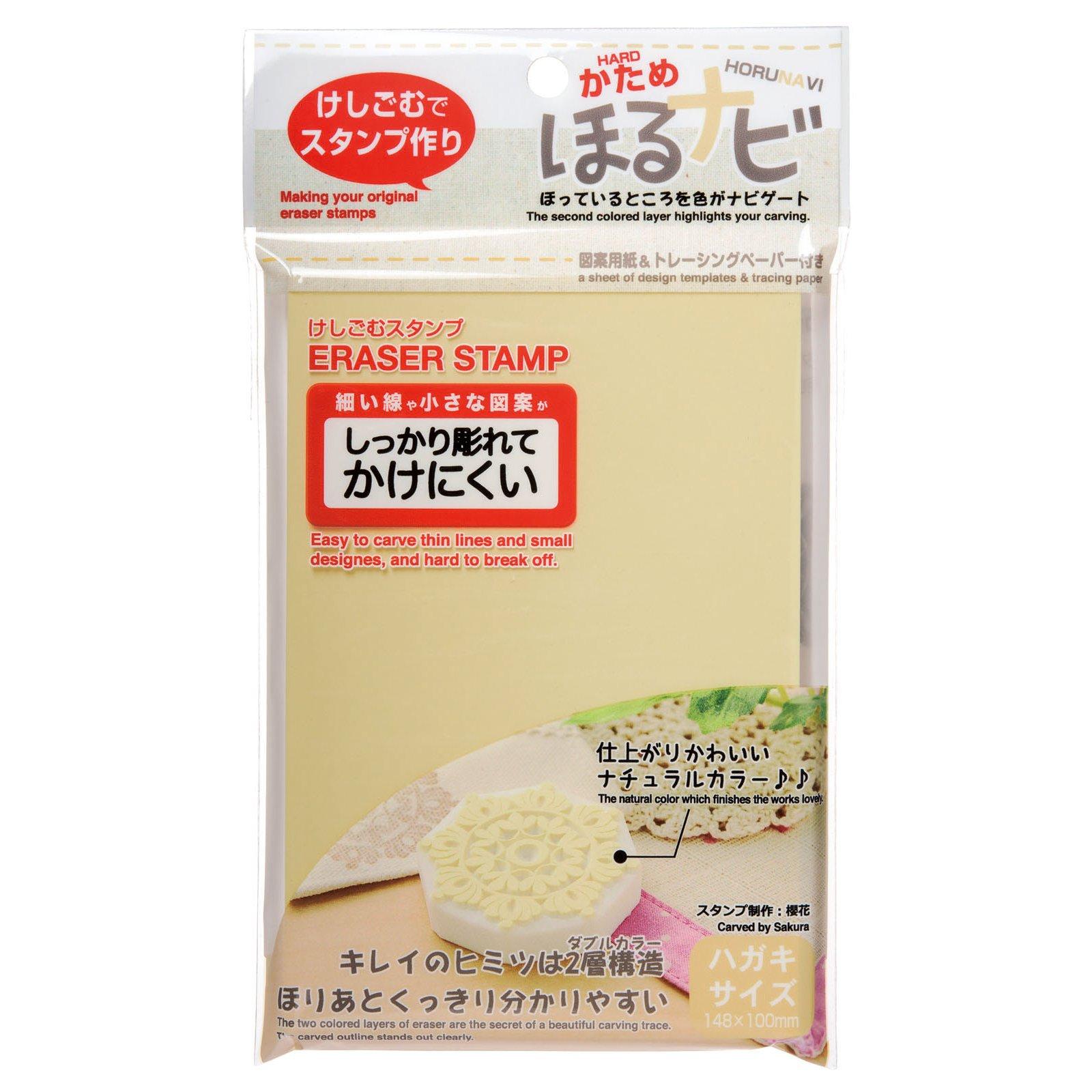 The seed eraser stamp hardening dig Navi NK postcard size 5 pcs KH-HN12-5P