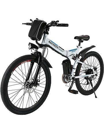 c6285c75da1 ANCHEER Electric Mountain Bike, 26 E-bike Citybike Commuter Bike with 36V  8Ah Removable
