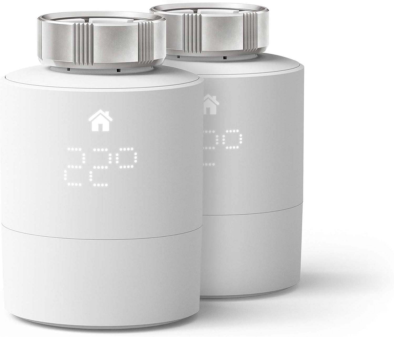 tado° Tête Thermostatique Intelligente - Pack Duo, accessoire pour le contrôle multi-pièces,...
