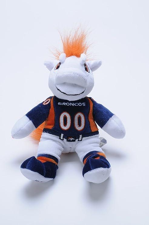 Amazon Com Forever Collectibles Denver Broncos 8 Inch Plush Mascot