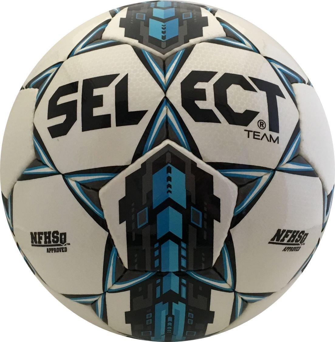 選択チームサッカーボール B0199RZF68 4 ホワイト/ブルー ホワイト/ブルー 4