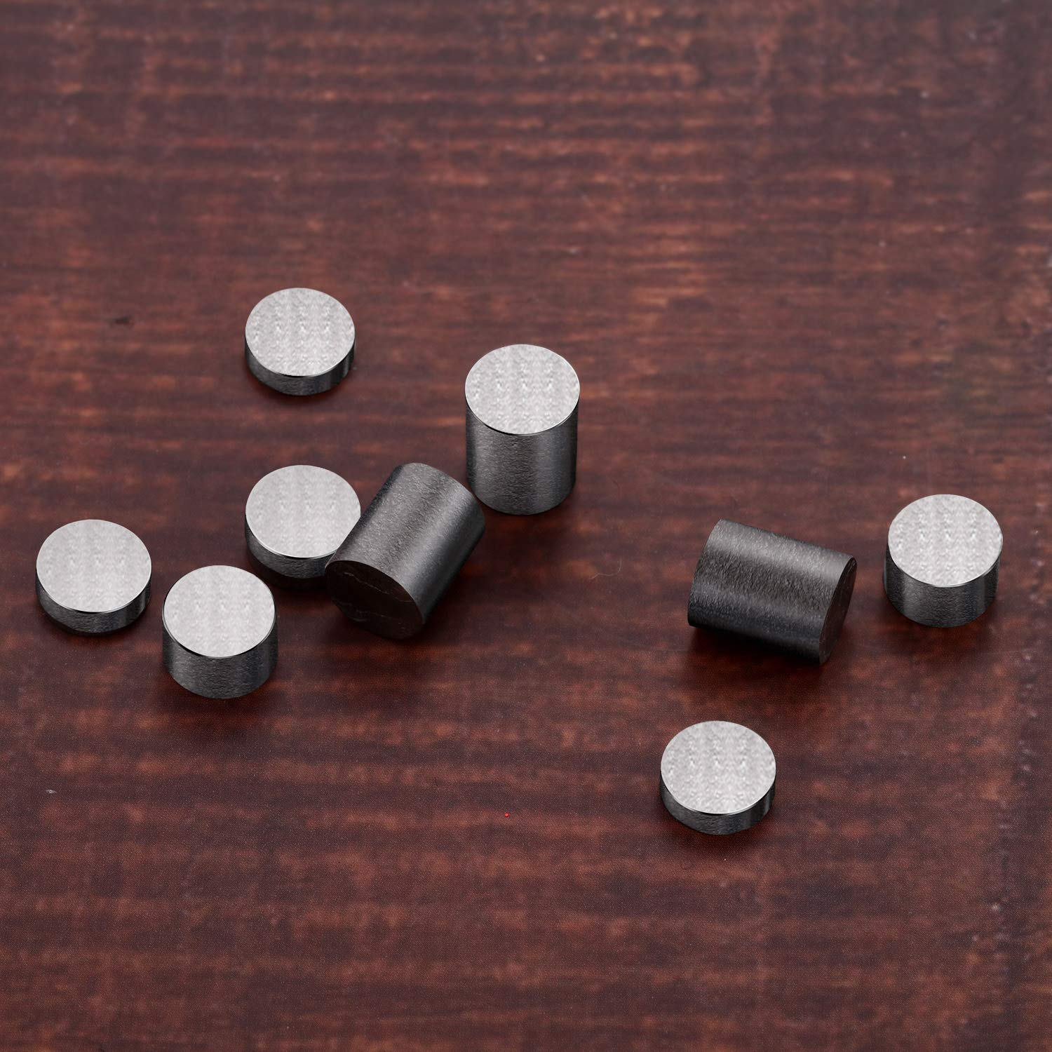 Pinewood Derby Car Weights Tungsten Weights 3.125 Ounce 3//8 Inch Incremental Cylinders Car Incremental Weights 11 Pieces, 4 Size