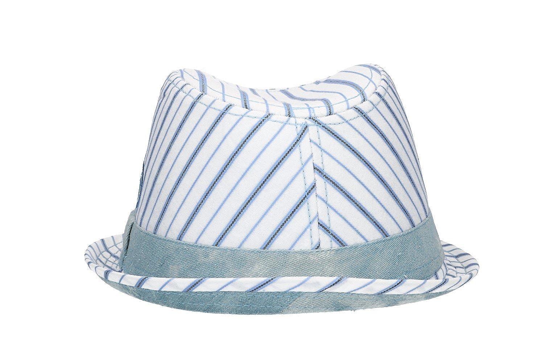 87f12447 Hat trilby man NAPOLI ENZO CASTELLANO white tg.M VL449: Amazon.co.uk:  Clothing