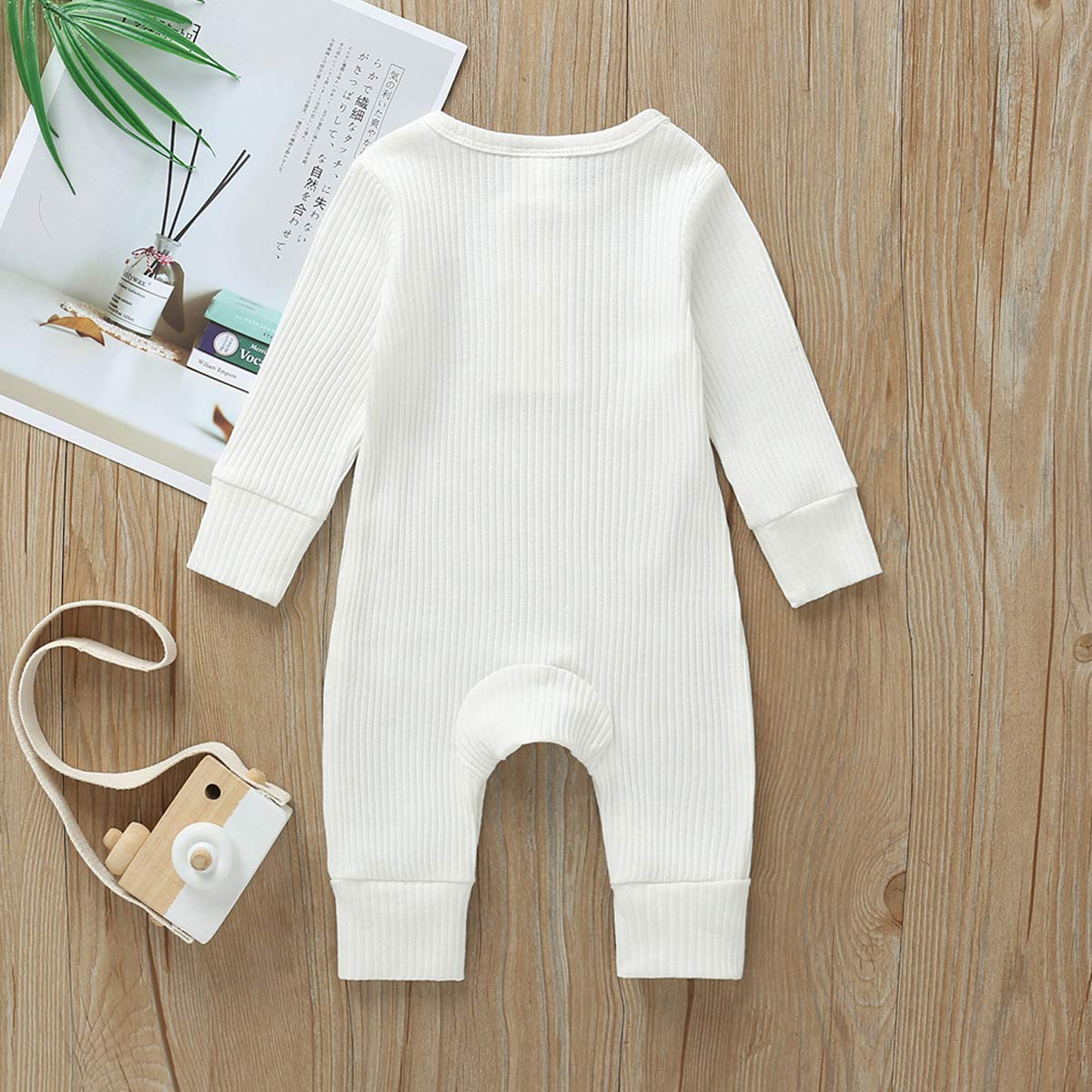 TAIYCYXGAN Unisex Baby Boys Girls Winter Fleece Rompers Infant Warm Bodysuits Hoodies Toddlers Jumpsuit