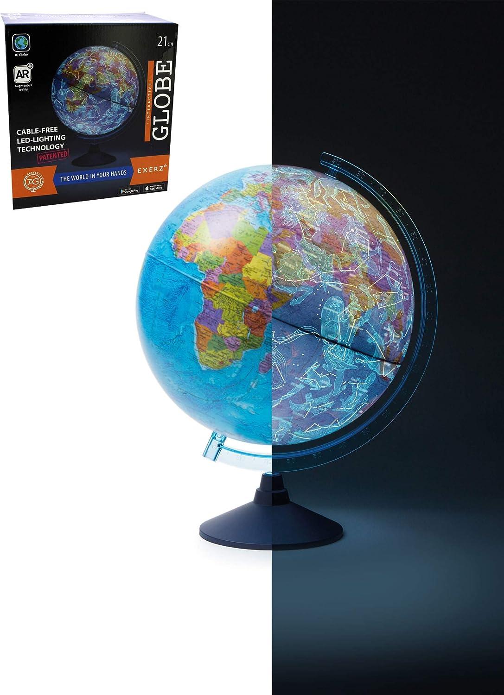 Globe terrestre Alayskys Globe Constellation 2IN1