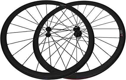 Single Speed Wheelset 38 50 88mm Track Hub Fixed Gear Bike Wheels 700C Tubular