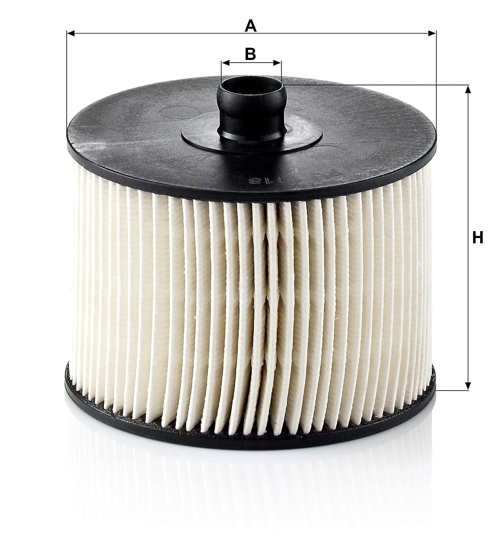 filtre /à carburant avec joints Pour v/éhicules particuliers Original MANN-FILTER Filtre /à carburant PU 1018 X