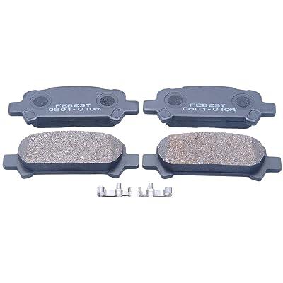 26696-Ag020 / 26696Ag020 - Rear (Disc Brake) Pad Kit For Subaru: Automotive