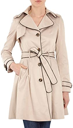 c7b7e8350e Morgan 132-GABY.N Trench Coat, Beige, FR: 38 (Taille Fabricant : T38 ...