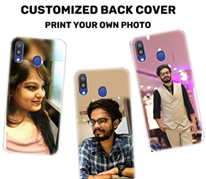huge discount b313b a1fd2 Fashionury Personalized Customised Photo Print Designer Back Case Cover for  Samsung Galaxy M20/Samsung M20 Customized Photo Print Designer Back Case ...