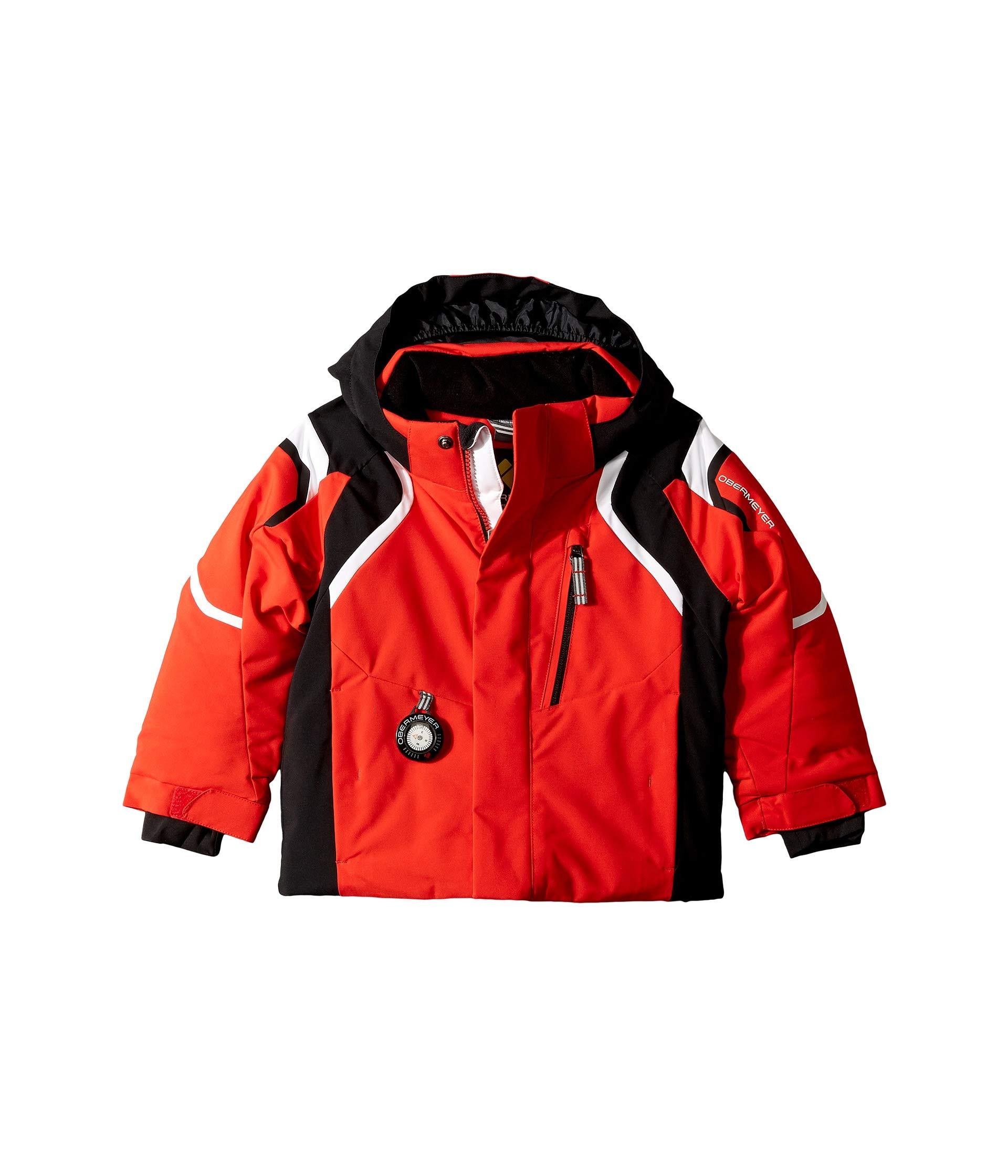 Obermeyer Kids Baby Boy's Kestrel Jacket (Toddler/Little Kids/Big Kids) Red 8