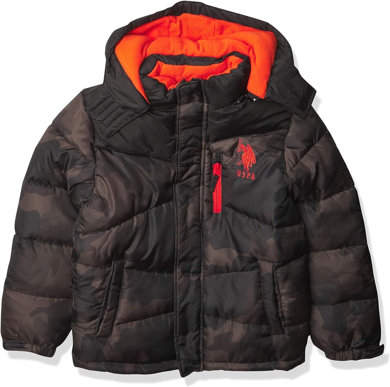 U.S. Polo Assn. boys Puffer: Clothing