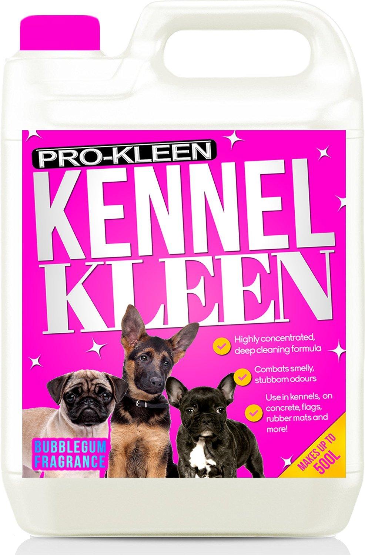 ... la perrera limpiador desinfectante y ambientador (aroma de chicle | utilizado por Veterinarios, perreras y criaderos | profundamente limpia y desinfecta ...