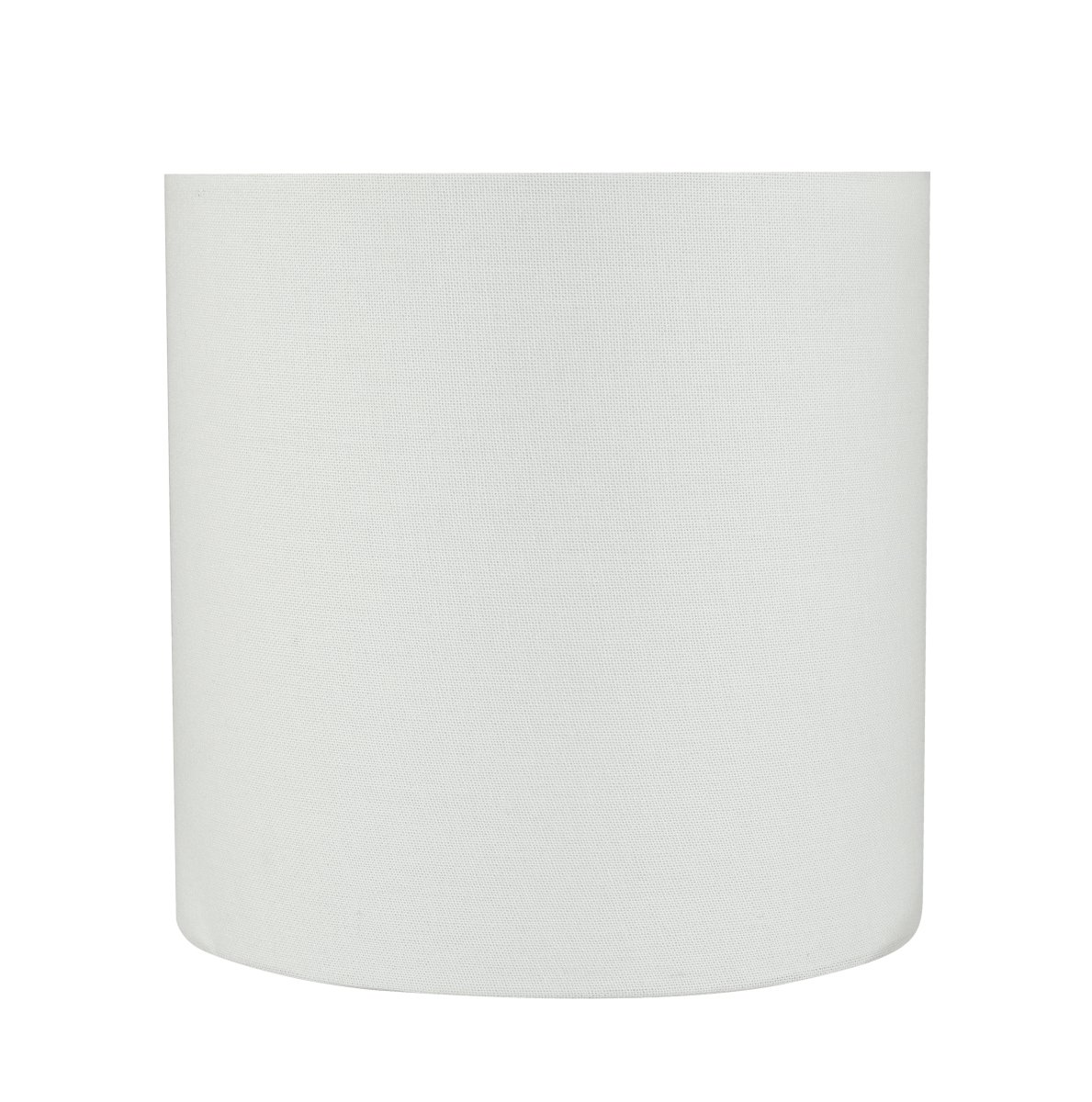 Aspen Creative 31227 8'' Wide (8'' x 8'' x 8'') Transitional Drum Cylinder Shaped Spider Construction Lamp Shade, White