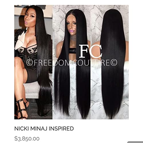 Amazon.com: FREEDOM COUTURE Nicki Minaj 34 Inch Glueless Full Lace ...