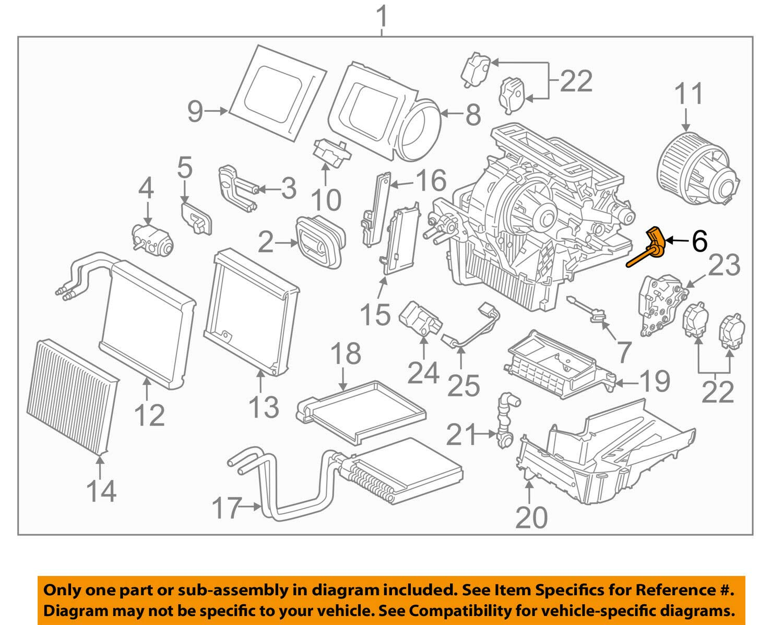 Sensor Assembly Ford FV6Z-19C734-B