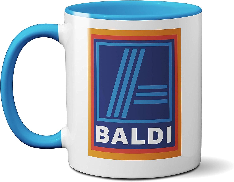 Baldi Aldi Parody Mug for Bald People