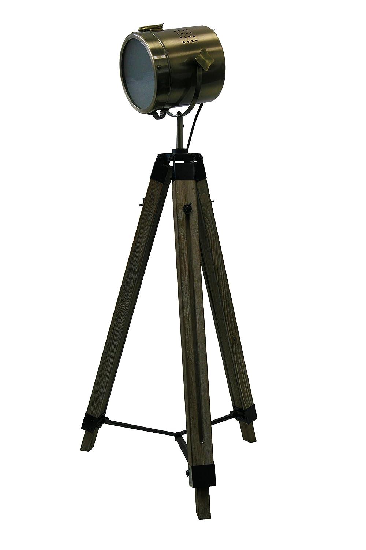 STATIV STEHLEUCHTE Höhe: 95-139cm RETRO STEHLAMPE Industrie Design ...