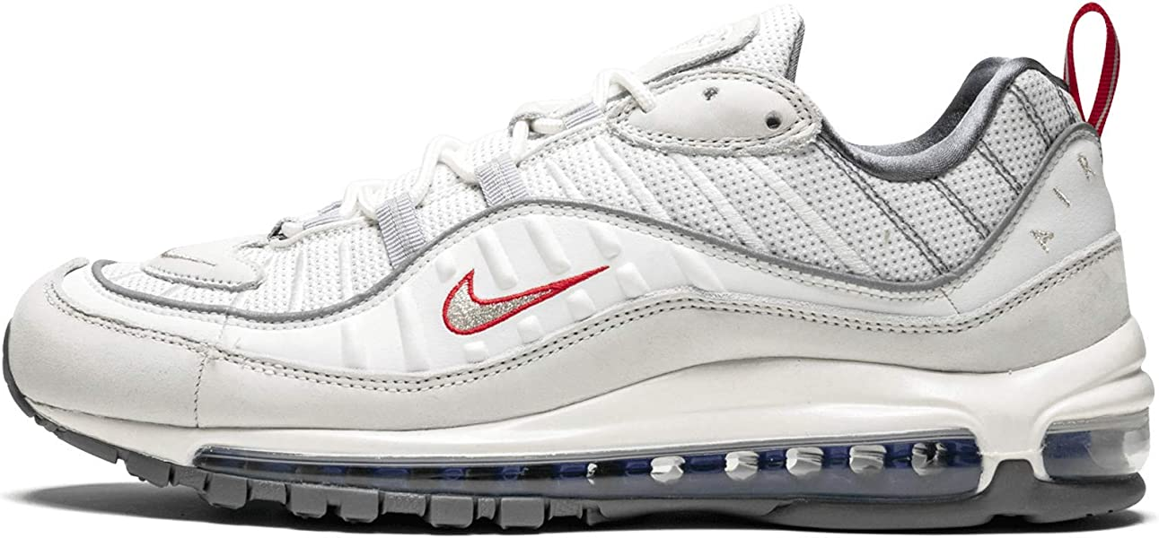 factory outlet new specials discount shop Amazon.com | Nike Air Max 98 (Summit White/Metallic Silver ...