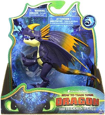 Amazon Com Purple Stormfly Dragon How To Train Your Dragon The Hidden World Toys Games