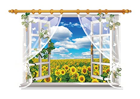 Dnven window 34w x 22h 3d full colour high definition