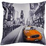 Ideal Textiles Taie de coussin Imprimé photo de taxi new yorkais
