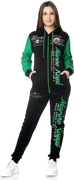 Jogginghose Fitness Set Damen Jogginganzug Sportanzug Trainingsanzug Pullover