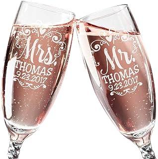 Amazon Com Wedding Bridal Dress Champagne Flutes Black Tuxedo And