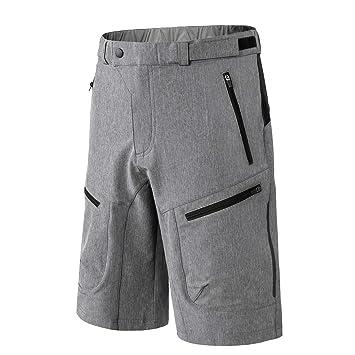 a4230f199c65b5 INBIKE Pantalon Corto De MTB Transpirable Fresco Cómodo para Verano, Shorts  De Ciclismo Bici Bicicleta Montaña Ciclista para Hombre