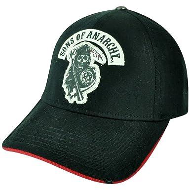 b51cbe490d5 Sons of Anarchy Flex Fit Medium Large TV Show Outlaws Reaper Skulls ...