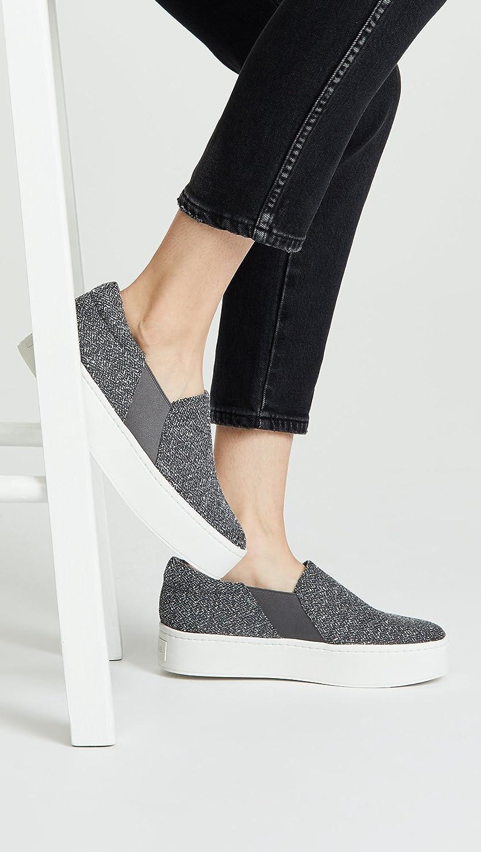 c9a1724eeb264 Amazon.com: Vince Women's Warren Slip On Sneakers, Grey, 5.5 M US: Shoes