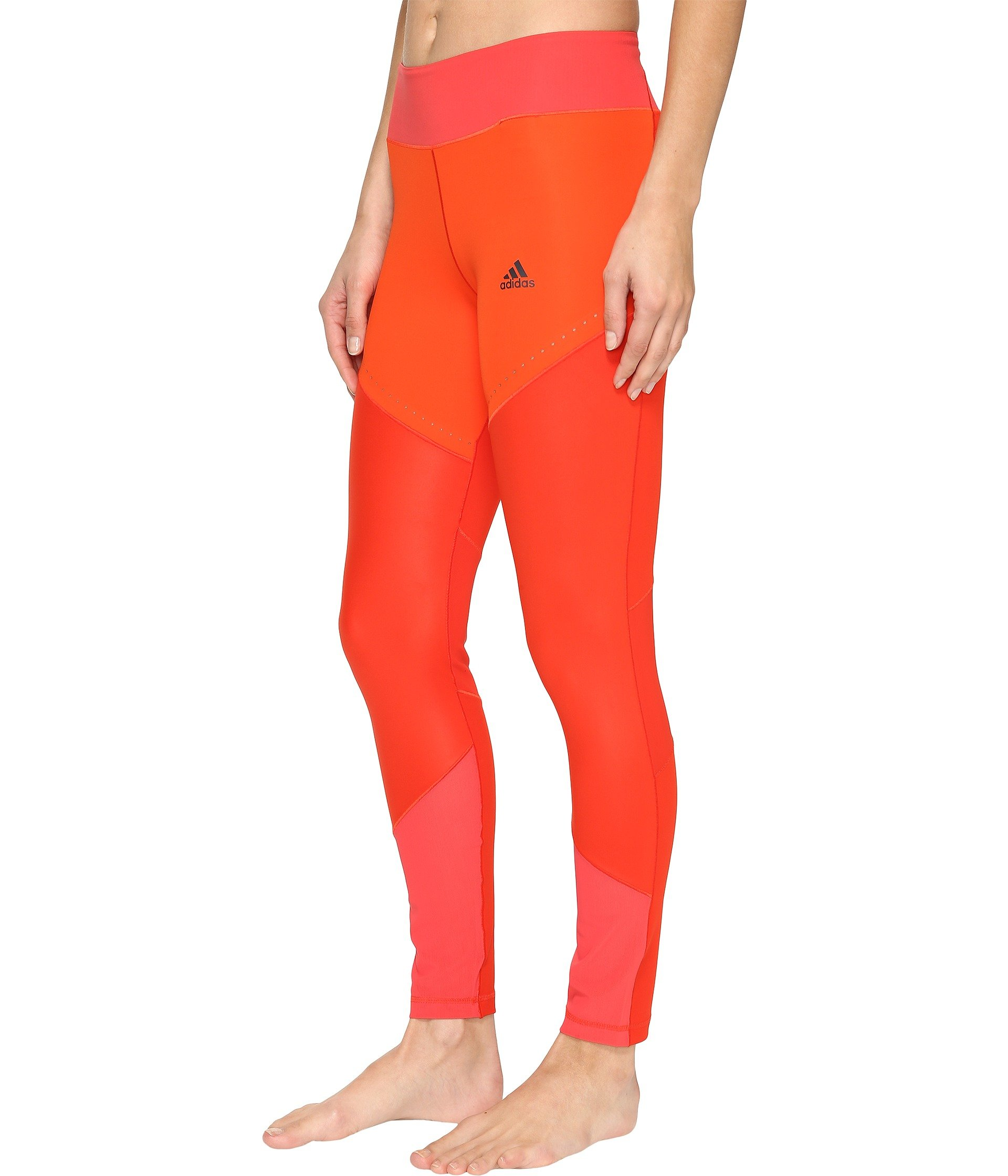adidas Women's Training Wow Drop Tights, Core Red/Core Pink, X-Small by adidas (Image #3)