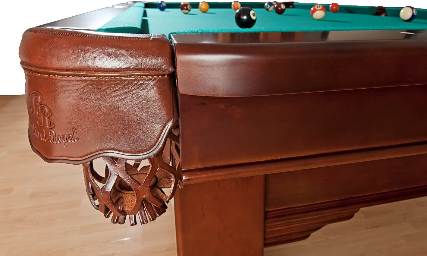 Billiard-Royal Mesa de Billar Modelo Magdalena – 9 Ft, Verde ...