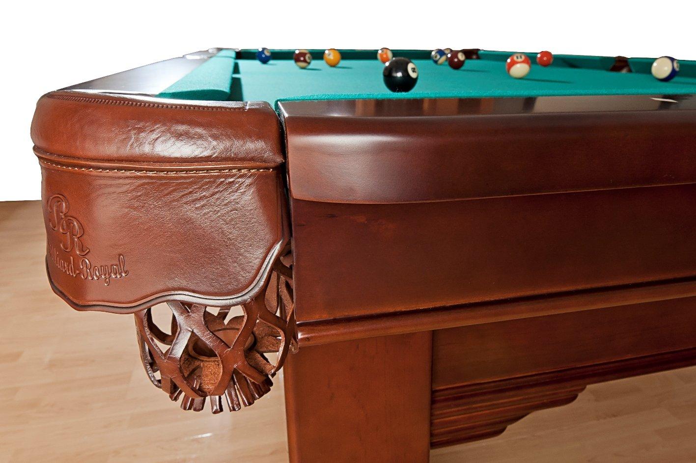 Billiard-Royal Mesa de Billar Modelo Magdalena – 9 Ft, Verde ...